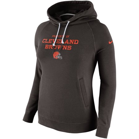 super popular e61fa 88c5b Cleveland Browns Nike Women's Stadium Rally Funnel Pullover Hoodie - Brown