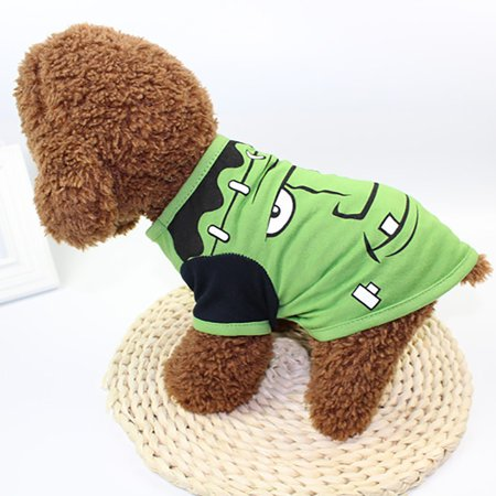 Cool Halloween Cute Pet T Shirts Clothing Small Puppy Costume