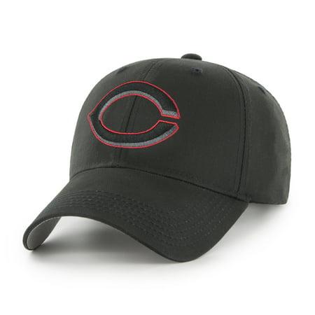 MLB Cincinnati Reds Black Mass Basic Adjustable Cap/Hat by Fan Favorite