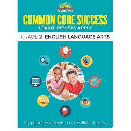 Barrons Common Core Success Grade 2 English Language Arts  Learn  Review  Apply