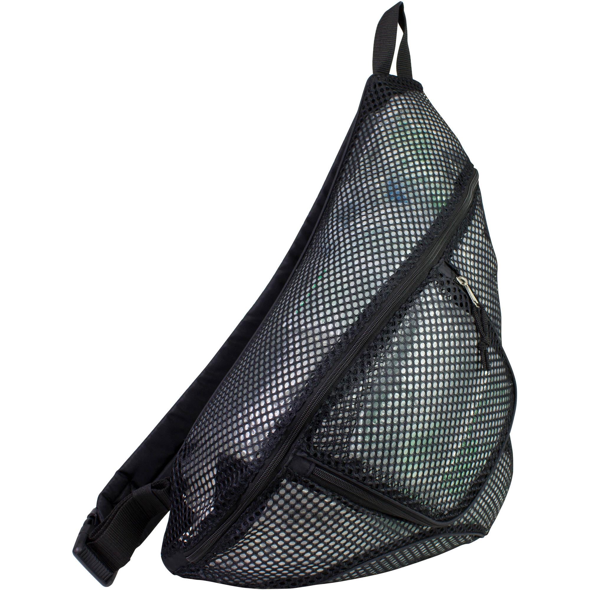 Eastsport Mesh Trapezoid Sling Bag