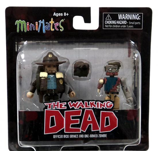 Officer Rick Grimes & One-Armed Zombie Minifigure 2-Pack