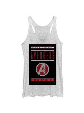 3d13e12e1a6bf Product Image Marvel Women s Avengers  Endgame Earth s Mightiest Heroes  Racerback ...