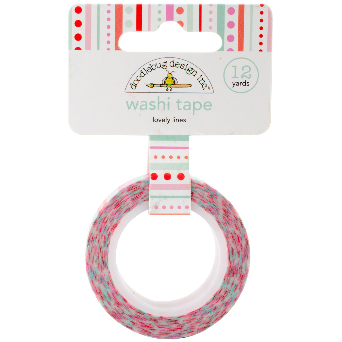 Doodlebug Washi Tape 15mm X 12yd-Sweet Things Lovely Lines
