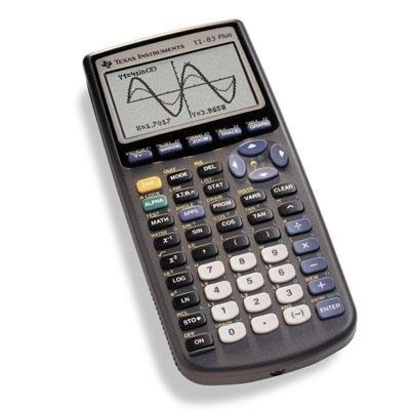 Texas Instruments 83 Plus Graphics Calculator TI-83 Plus ...