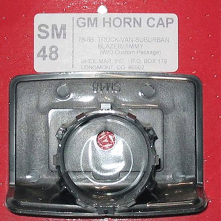 Horn Cap Replacement for Chevrolet GMC SUV Pickup Truck Van