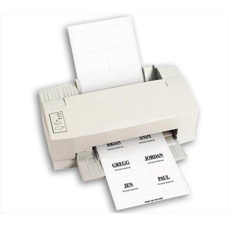 C-Line Products 92443BNDL5PK Laser Printer Name Badge Inserts  6-Sheet  4 x 3  60-PK - Set of 5 PK