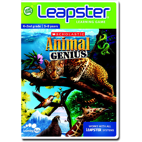 Leapster Scholastic Animal Genius - Leapster Learning Game ...