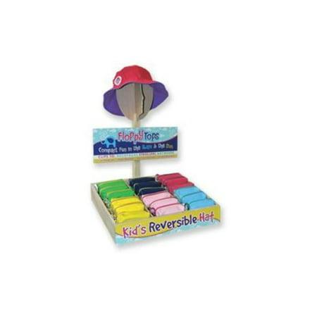 Floppy Tops Kids Reversable Sun Hat (Pack of 36) - Walmart.com daf2ea77893