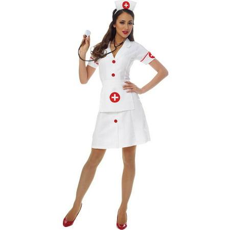 Classic Nurse Adult Costume - Classic Nurse Costume