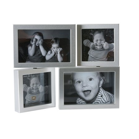 Individual Frames - Photo Frame Dynamic Silver, Medium, Individual frames spin and turn By Present Time