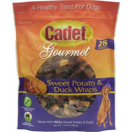 Cadet Gourmet Sweet Potato & Duck Wraps 14lb (8 x (Canine Caviar Gourmet Duck)