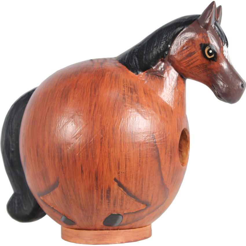 HORSE GORD-O BIRD HOUSE - SE3880091, (Pack of 1)