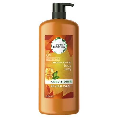 - Herbal Essences Body Envy Volumizing Conditioner with Citrus Essences, 33.8 fl oz