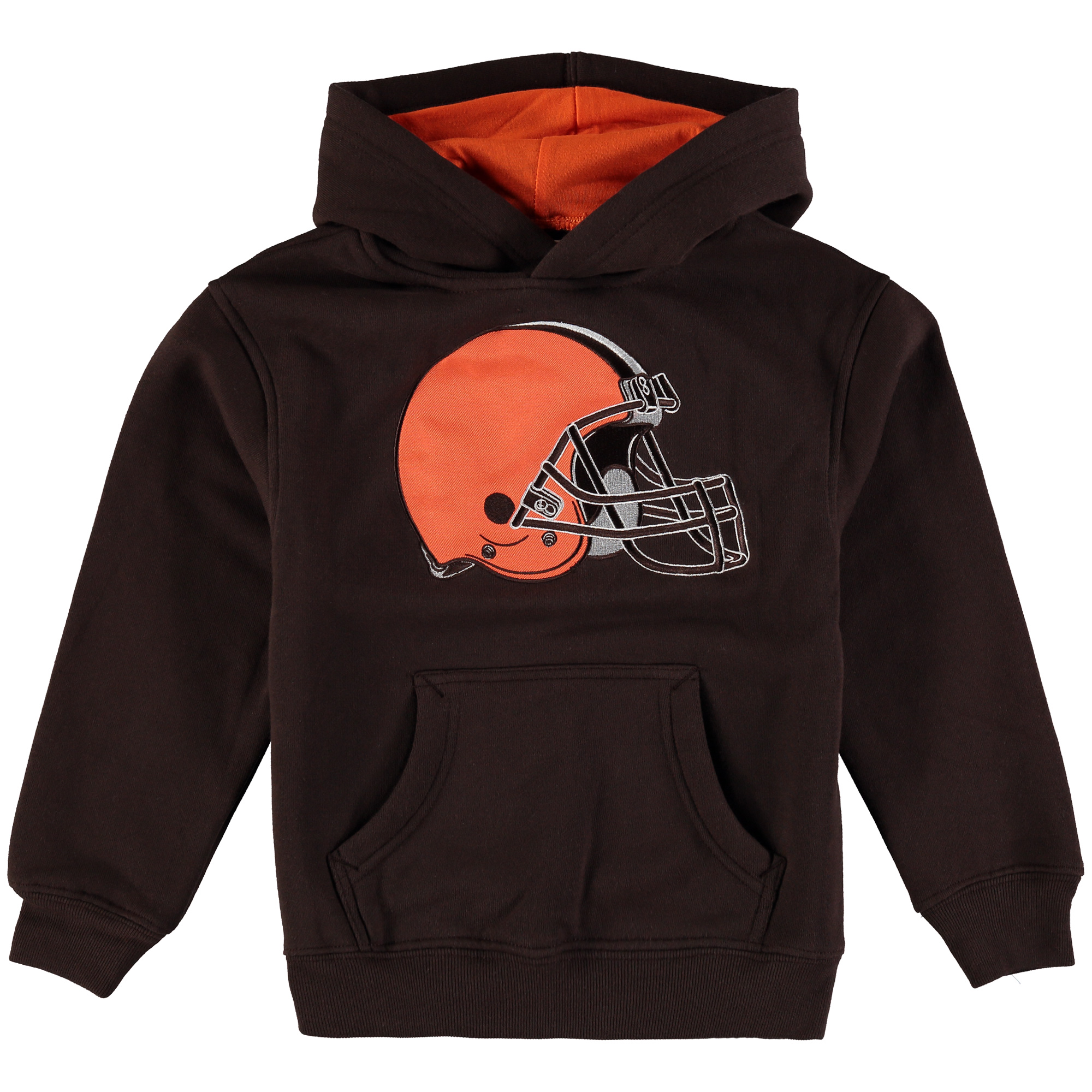 Cleveland Browns Preschool Fan Gear Prime Pullover Hoodie - Brown - 7
