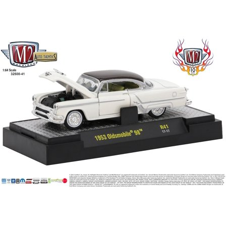 M2 Machines Auto Thentics Release 41 10th Anniversary 1:64 1953 Oldsmobile 98