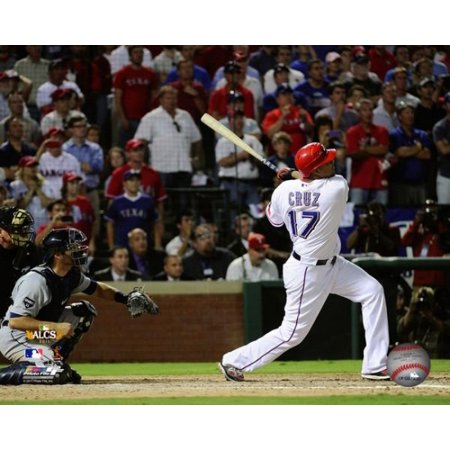 Nelson Cruz Game Winning Walk off Grand Slam Game 2 of the 2011 ALCS Action Photo Print