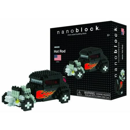 Hot Rod - Building Set by Nanoblock (58364)