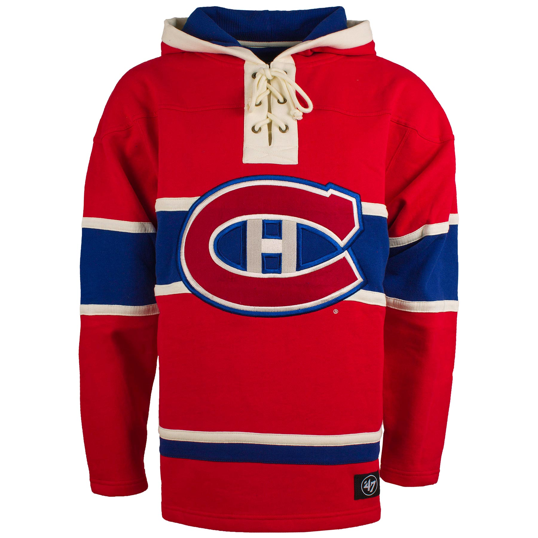 Montreal Canadiens NHL  47 Heavyweight Jersey Lacer Hoodie f5db5a98672