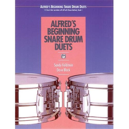 Alfred 00-16930 Beginning Snare Drum Duets - Music Book