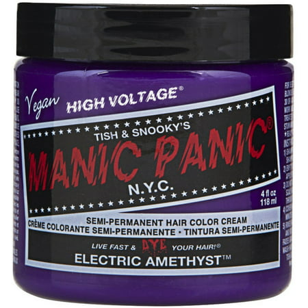 Manic Panic Semi-Permament Hair Color Creme, Electric Amethyst 4