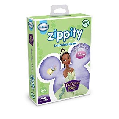 leapfrog zippity learning game: disney the princess and the frog