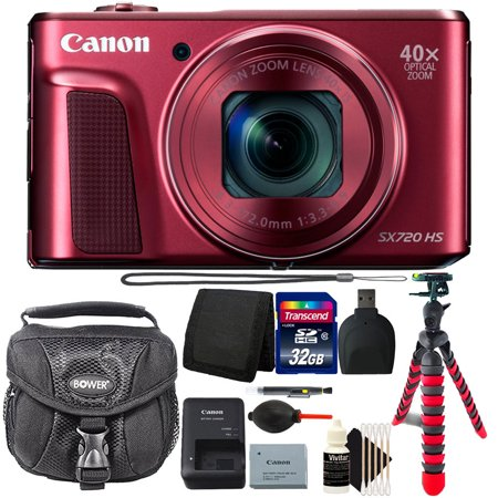 Canon PowerShot SX720 HS 20.3MP Wifi Enabled Digital Camera and 32GB Accessory