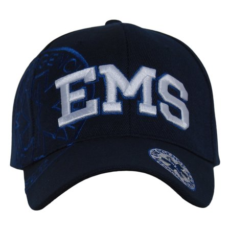 Deluxe Style EMS Emergency Medical Service Paramedics Hat - Different Colors (Different Types Of Hats)