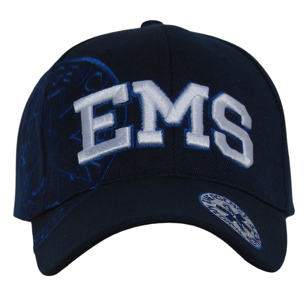 Deluxe Style EMS Emergency Medical Service Paramedics Hat - Different Colors