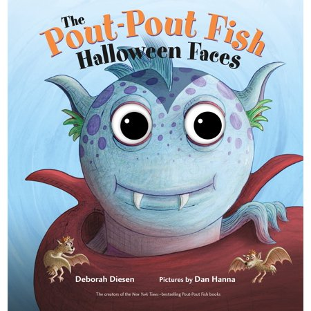 Halloween Books On Tape (Pout pout Fish Halloween Faces (Board)