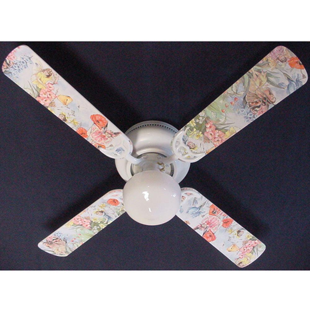 Ceiling Fan Designers Magical Fairies Print Blades 42in C...