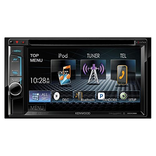 Kenwood eXcelon DDX392 2-Din DVD Receiver with Bluetooth by Kenwood