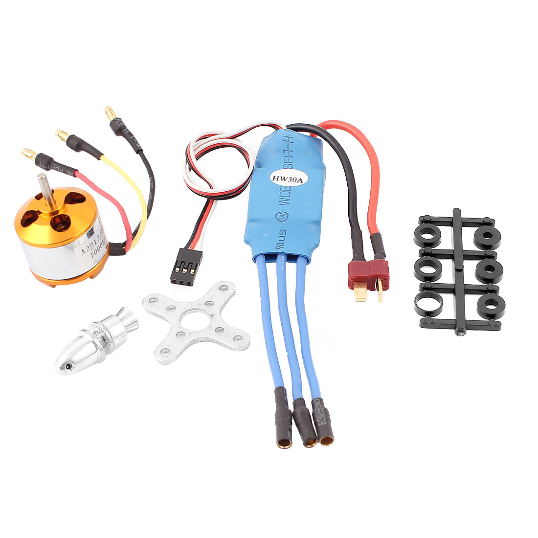 1000KV Brushless Motor XXD2212 + 30A ESC for RC Plane Helicopter