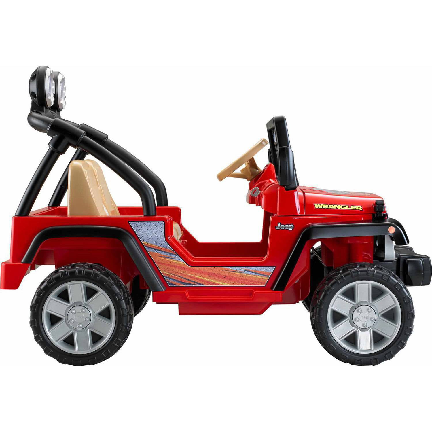 Power Wheels Jeep Wrangler 12 Volt Battery Powered Ride On Red Wiring Diagram Parts