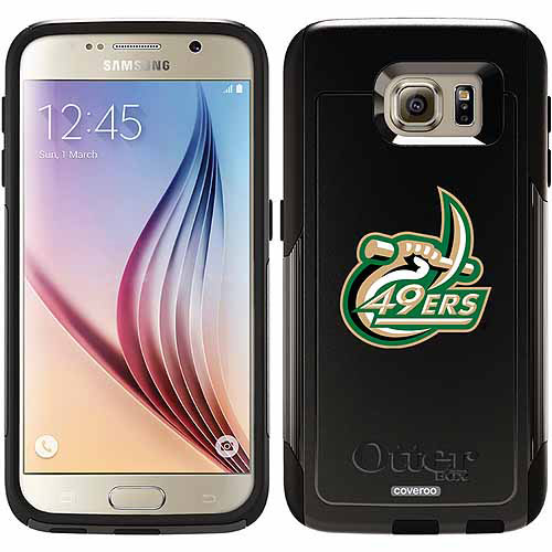 North Carolina Charlotte 49ers Design on OtterBox Commuter Series Case for Samsung Galaxy S6