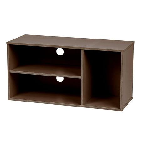 IRIS Modular AV Box, Waku Series, Brown Oak