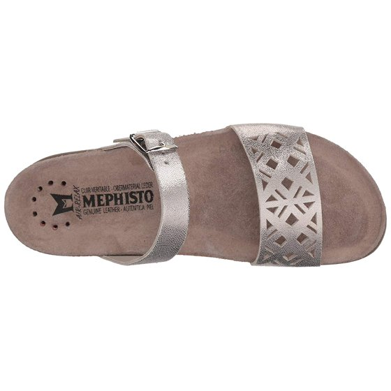 2cd3a27b5f Mephisto - Mephisto Womens Hirena Leather Open Toe Casual Slide Sandals -  Walmart.com