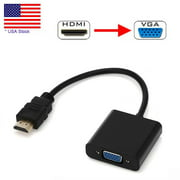 CableVantage HDMI Male to VGA Female Video Converter Adapter Cable For PC DVD 1080P HDTV TV