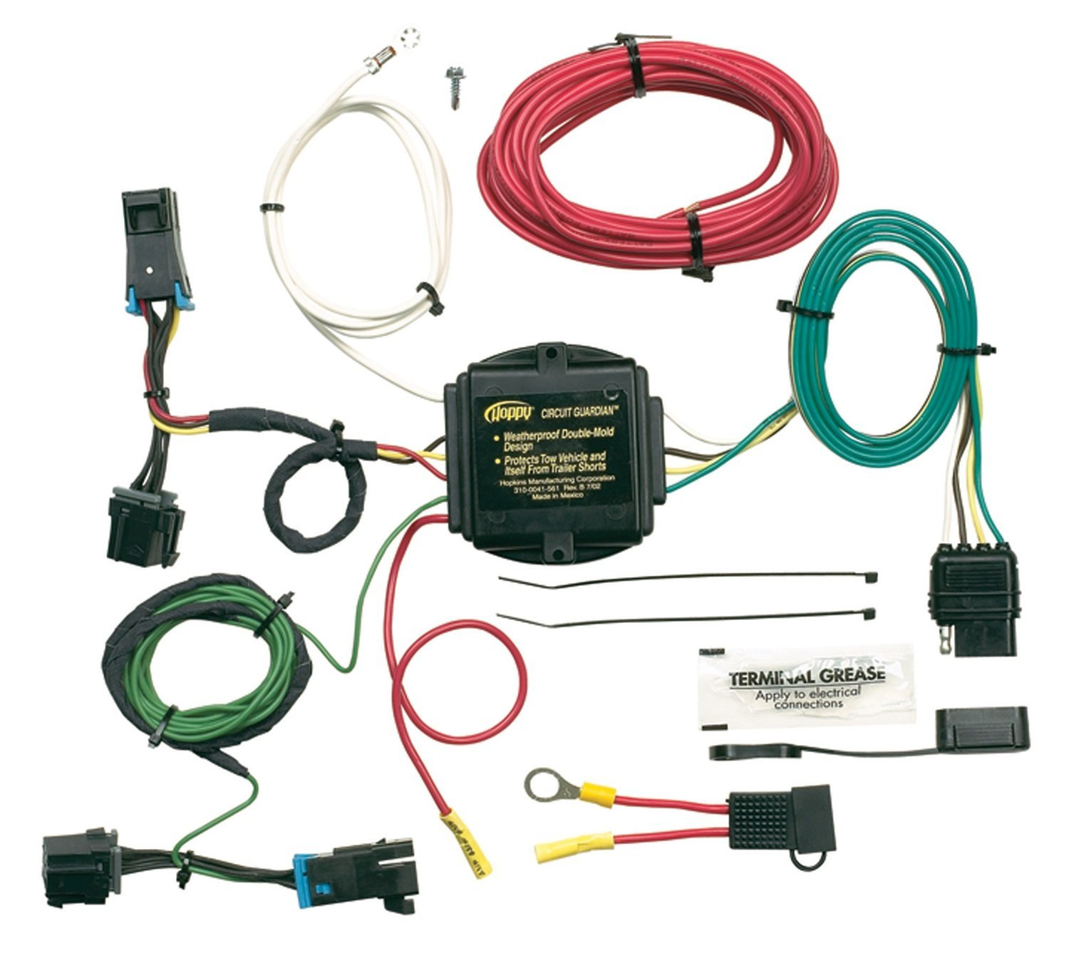 Hopkins 41345 Plug-In Simple Vehicle Wiring Kit, T-Connectors allow ...