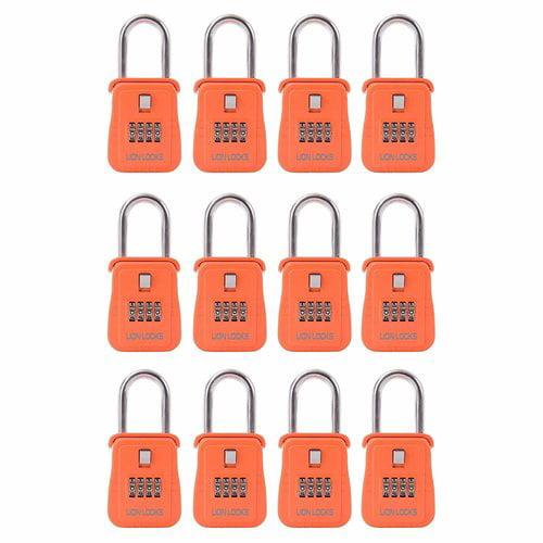 AfulaEnterprises Lion Combination Lock (Set of 12)