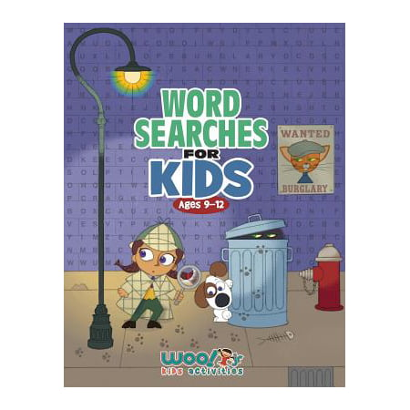 Word Search for Kids Ages 9-12 : Reproducible Worksheets for Classroom & Homeschool Use (Woo! Jr. Kids Activities Books) (Halloween Activities Word Search)