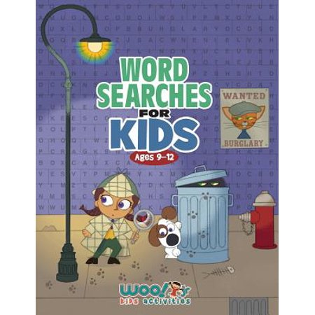 Word Search for Kids Ages 9-12 : Reproducible Worksheets for Classroom & Homeschool Use (Woo! Jr. Kids Activities Books) - Halloween Word Search Worksheet