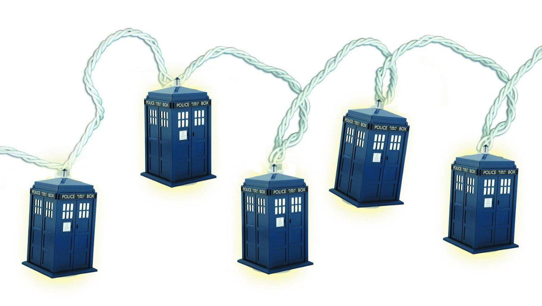 Doctor Who Tardis String Christmas Lights Strand Xmas BBC TV Dr ...