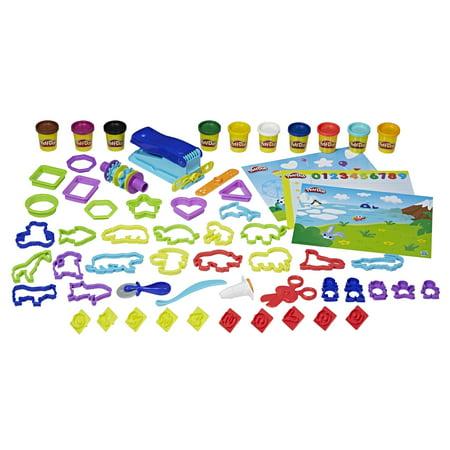 Play-Doh Pre-School Fundamentals Box Set with 10 Cans & 50+ Tools