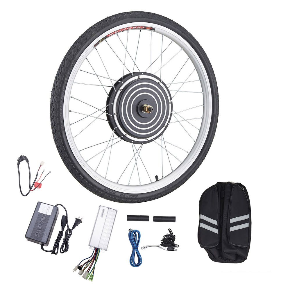 "26"" Electric Bike Conversion Kit Hub Motor 48V 1000W with Cotroller"