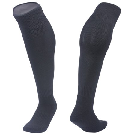 Meso Bs' 1 Pair Knee High Sports Socks for All Sports XS Black