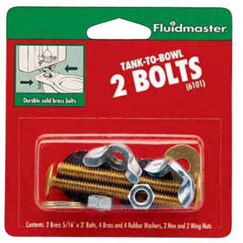 Fluidmaster 6101 Tank-To-Bowl, 2 Bolts