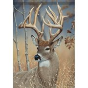 Carson Wonderful Whitetail Garden Flag 45372