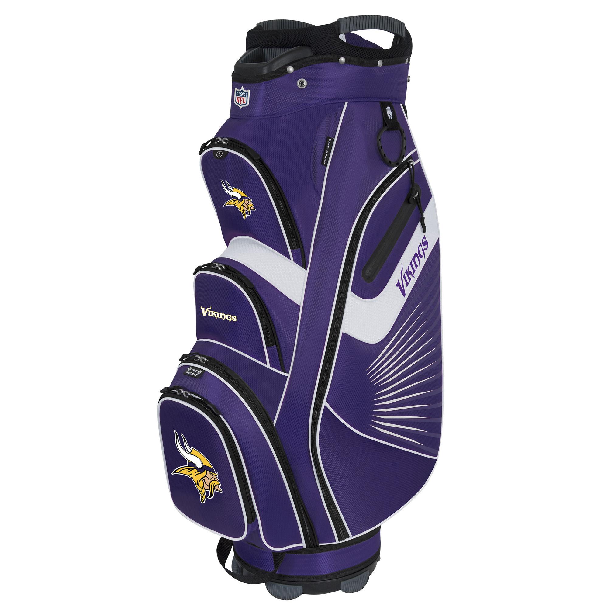 Minnesota Vikings The Bucket II Cooler Cart Bag - No Size