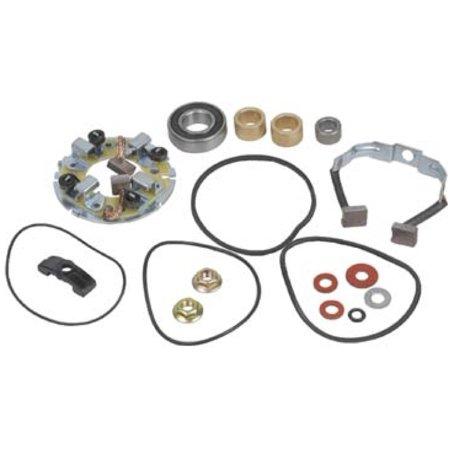 New Starter Motor Rebuild Kit Repairs 1985 Honda Fl350 Atv 31200 Vm0 003
